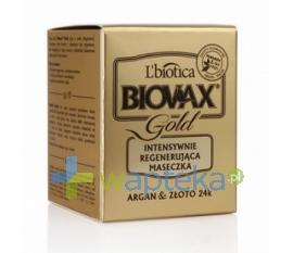 LBIOTICA BIOVAX maseczka GOLD do pielęgnacji każdego rodzaju włosów 125ml + maseczka BIOVAX 20ml GRATIS