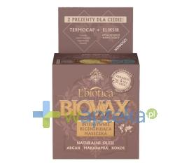 LBIOTICA BIOVAX Maseczka Intensywnie Regenerująca Argan Makadamia Kokos 250 ml