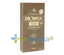 LBIOTICA BIOVAX Szampon Argan Makadamia Kokos 200 ml