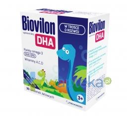 NOVASCON PHARMACEUTICALS SP. Z O.O. Biovilon DHA 30 saszetek