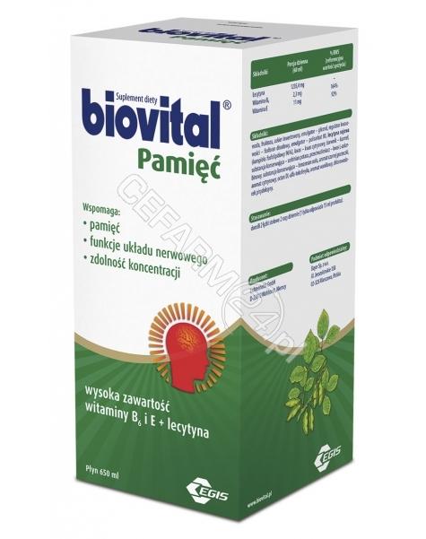 BAYER Biovital pamięć płyn 650 ml