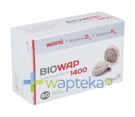 LEK-AM SP. Z O.O. P.F. Biowap 1400 tabletki 60 sztuk