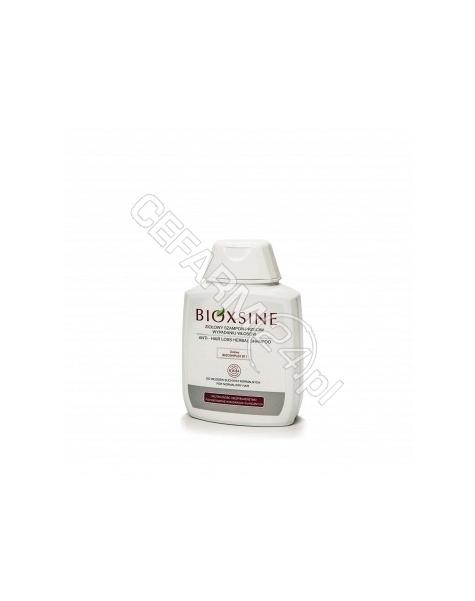BIOTA LABORATORIES Bioxsine szampon ziołowy przeciwko wypadaniu do włosów tłustych 300 ml