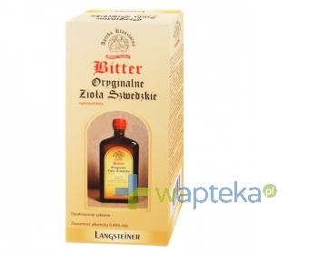 FA.LANGSTEINER Bitter Oryginalne Zioła Szwedzkie płyn 1000ml