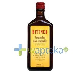OMEGA PHARMA POLAND SP Z OO Bittner Oryginalne Zioła Szwedzkie Tonik 500 ml