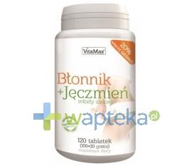 NOMINO HEALTHCARE SP. Z O.O. Błonnik + Jęczmień 120 tabletek