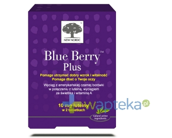 APC INSTYTUT SP. Z O.O. Blue Berry Plus 120 tabletek