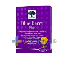 NEW NORDIC Blue Berry Plus 60 tabletek