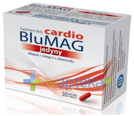 HASCO-LEK PPF BluMag Cardio jedyny 30 kapsułek