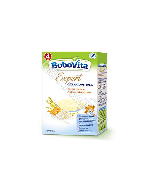 NUTRICIA Bobovita Expert dla odporności kaszka mleczna ryżowo - kukurydziana 250 g
