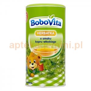 NUTRICIA BoboVita, herbatka o smaku kopru włoskiego, po 6 miesiącu, 200g