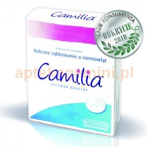 BOIRON BOIRON Camilia, roztwór doustny, 10 ampułek po 1ml