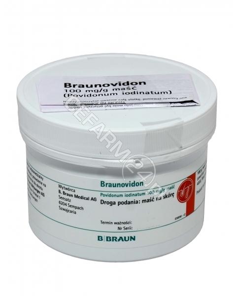 BRAUN Braunovidon maść 250 g