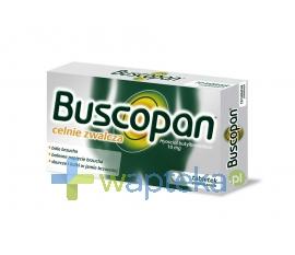DELFARMA SP. Z O.O. Buscopan 0,01 g 20 tabletek powlekanych