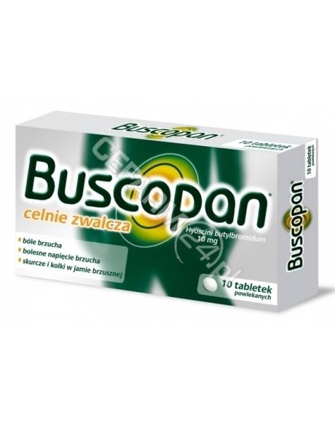 BOEHRINGER INGELHEIM Buscopan 10 mg x 10 tabl powlekanych