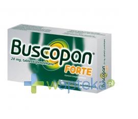 BOEHRINGEN INGELHEIM MARKETING SP. Z O.O. Buscopan Forte 0,02 g 10 tabletek powlekanych