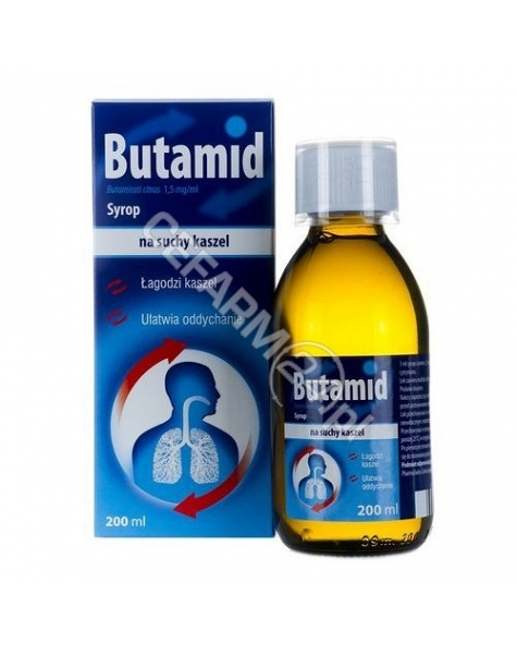 ICN POLFA RZ Butamid syrop 1,5 mg/ml 200 ml