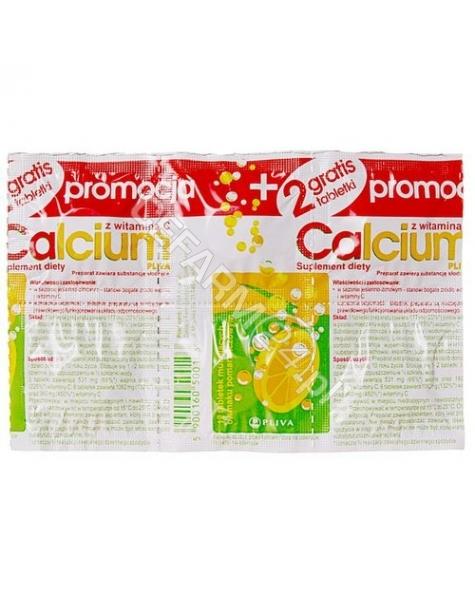 TEVA Calcium c x 12 tabl musujących o smaku pomarańczowym (pliva kraków)