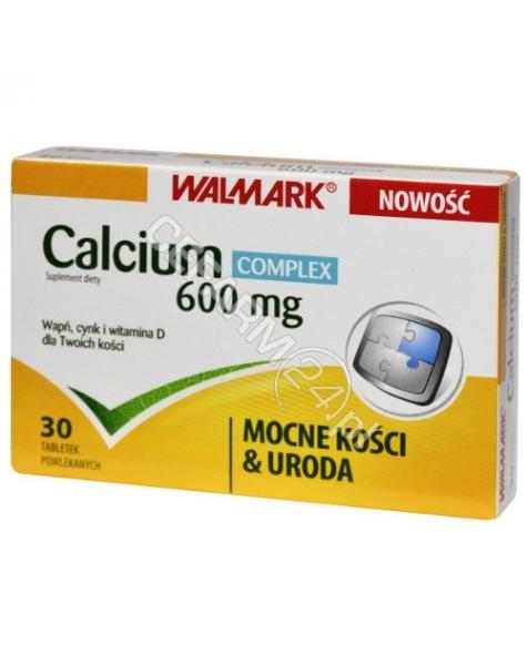 WALMARK Calcium complex 600 mg x 30 tabl powlekanych (Walmark)