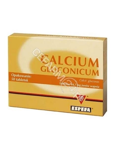 ESPEFA Calcium gluconicum 500 mg x 50 tabl