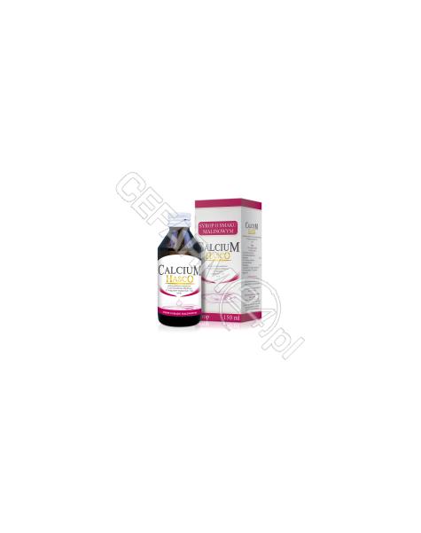 HASCO-LEK Calcium hasco syrop o smaku malinowym 150 ml