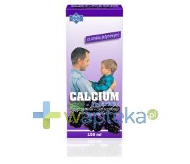 POLFARMEX S.A. Calcium Syrop o smaku jeżynowym 150ml POLFARMEX