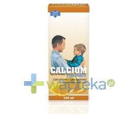 POLFARMEX S.A. Calcium Syrop o smaku pomarańczowym 150ml POLFARMEX - Krótka data ważności - do 31-01-2016