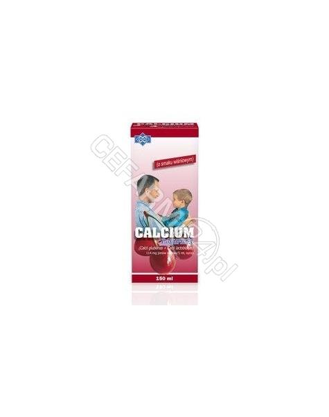 POLFARMEX Calcium syrop wiśniowy 150 ml (butelka pet)