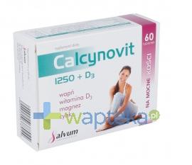 SALVUM Calcynovit 1250+D3 tabletki powlekane 60 sztuk