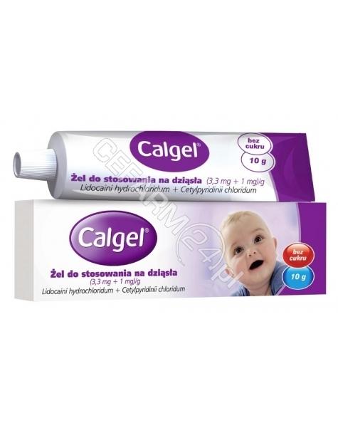 MCNEIL Calgel (3,3 mg+1 mg) żel 10 g tuba