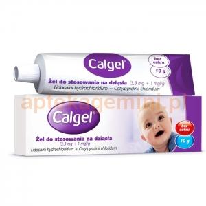 Johnson & Johnson Calgel, żel na dziąsła dla dzieci od 3 miesiąca życia, 10g