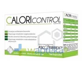 N.P.ZDROVIT SP Z O.O. CaloriControl 180 kapsułek - Krótka data ważności - do 31-01-2016