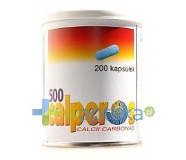 PLIVA KRAKÓW Z.F. S.A. Calperos 500 mg 200 kapsułek