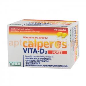 TEVA Calperos VITA-D3 Forte 2000IU, 60 kapsułek