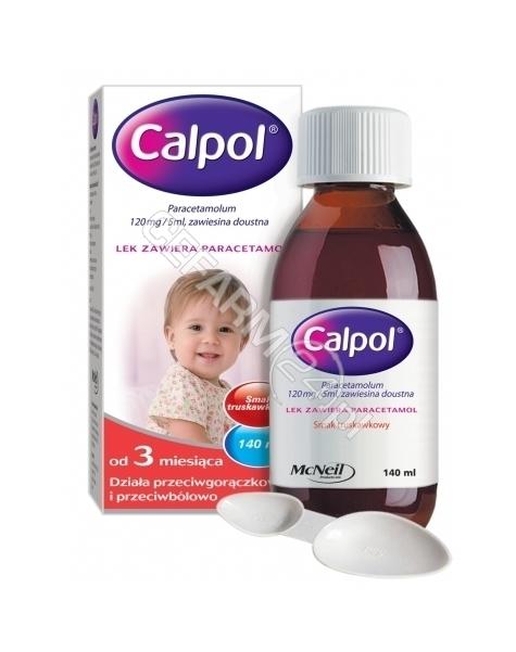 MCNEIL Calpol zawiesina doustna 120mg/5ml 140 ml