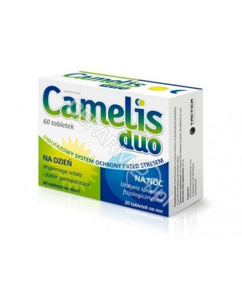 TACTICA Camelis duo x 60 tabl