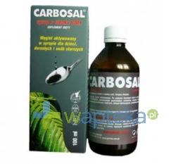 GORVITA PPHU Carbosal Syrop o smaku coli 100 ml