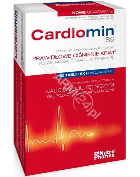 PURITAN'S PR Cardiomin b6 x 60 tabl powlekanych