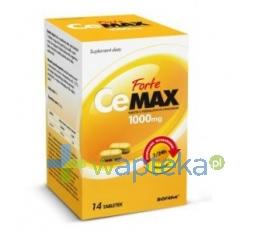 BIOFARM SP.Z O.O. CeMax Forte tabletki o przedłużonym uwalnianiu 1 g 14 tabletek