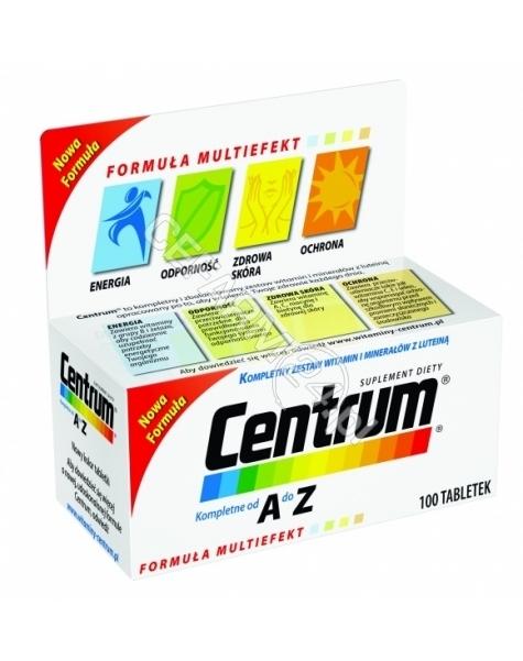 PFIZER Centrum A-Z z luteiną x 100 tabletek