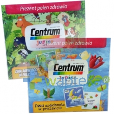 WYETH SP. Z O.O. Centrum Junior Dwupack (2x30 tabletek) + 2 płyty