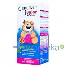 POLFARMEX S.A. Cerutin Junior syrop malinowy 120 ml