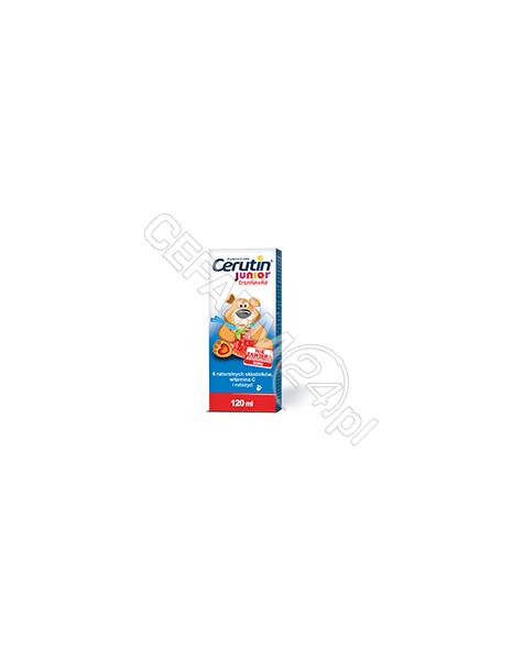POLFARMEX Cerutin junior syrop o smaku truskawkowym 120 ml