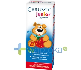 POLFARMEX S.A. Ceruvit Junior syrop smak truskawkowy 120ml