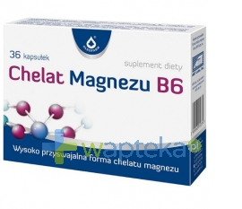 OLEOFARM SP. Z O.O. Chelat Magnezu B6 36 kapsułek