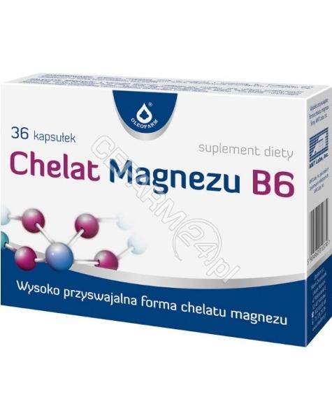OLEOFARM Chelat magnezu b6 x 36 kaps