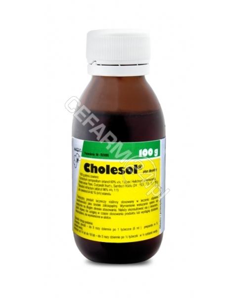 HERBAPOL WRO Cholesol płyn 100 g