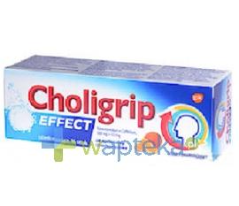 GLAXO WELLCOME S.A. Choligrip Effect 16 tabletek musujących