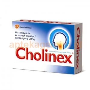 GLAXOSMITHKLINE Cholinex 150mg, 16 pastylek do ssania