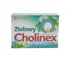GLAXOSMITHKLINE PHARMACEUTICALS S.A. Cholinex Ziołowy mentol i eukaliptus 16 pastylek do ssania
